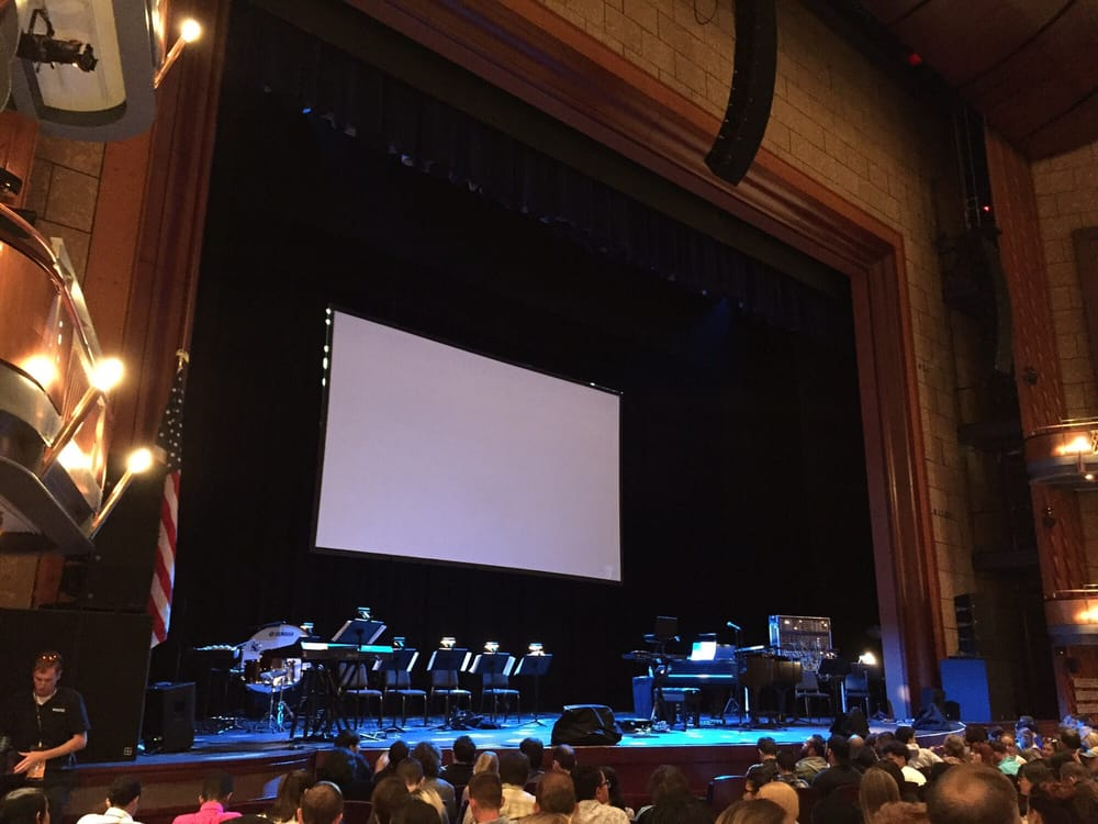 View From The Orchestra Section In The Walt Disney Theater Yelp