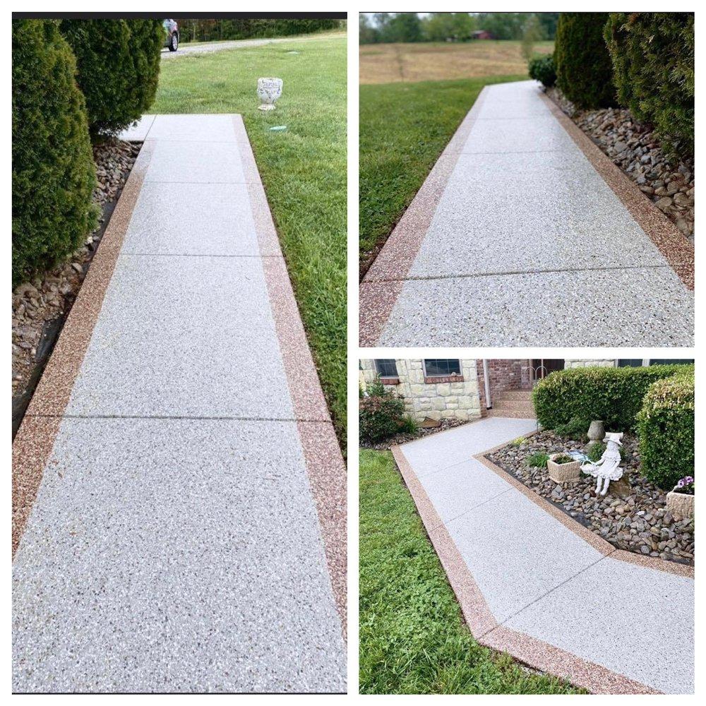 We Do Concrete Coatings: 879 B Park Ave, Hot Springs, AR