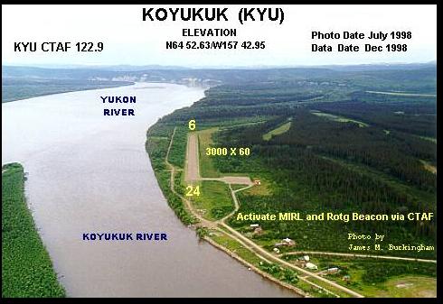Koyukuk Airport - KYU: Koyukuk, AK