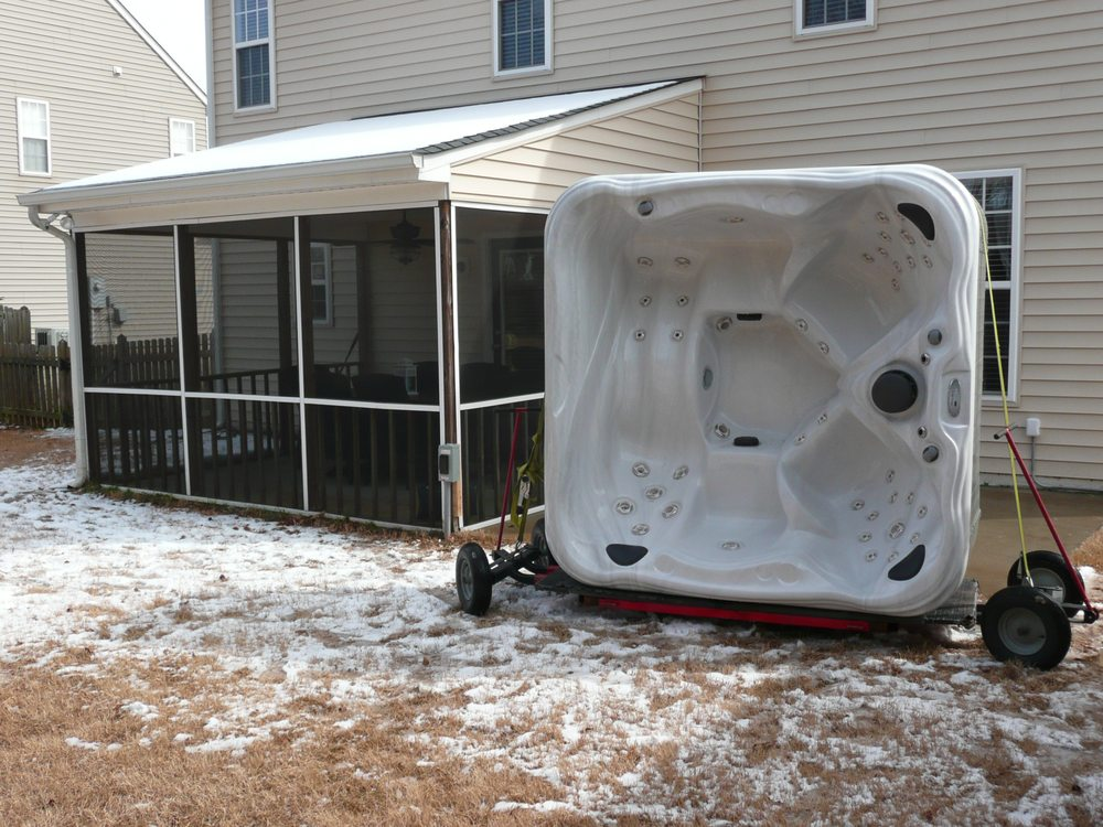 Hot Tub and Spa Movers: 9601 Glenwood Ave, Raleigh, NC