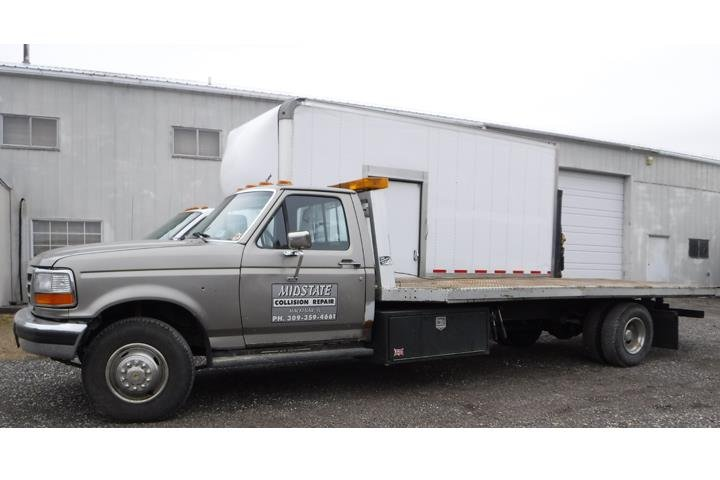 Midstate Collision Repair: 703 Smith St, Mackinaw, IL