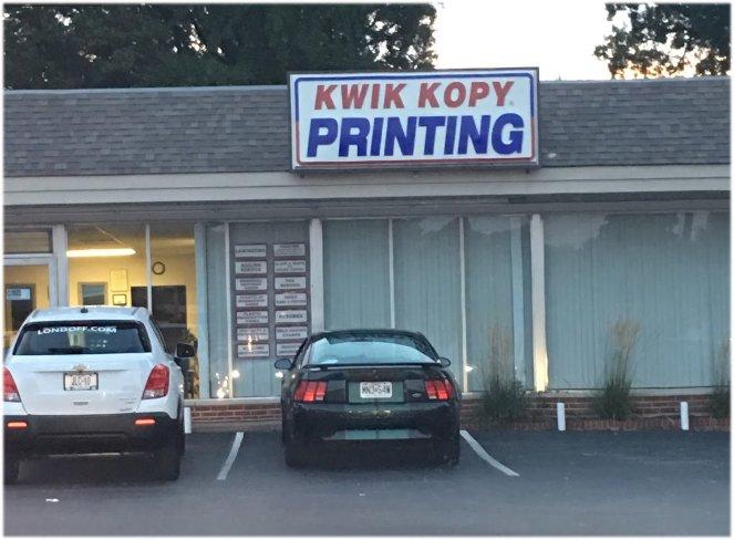 Kwik Kopy Printing: 715 S New Florissant Rd, Florissant, MO