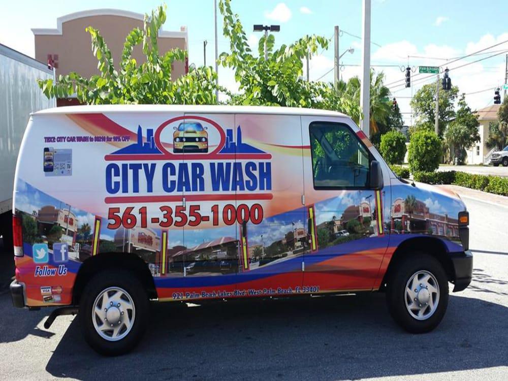 Palm Beach Lakes Blvd Car Wash