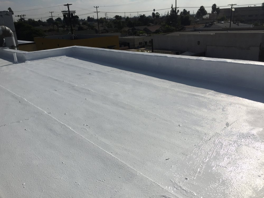 Roof Coating After Built Up Hot Mop Yelp