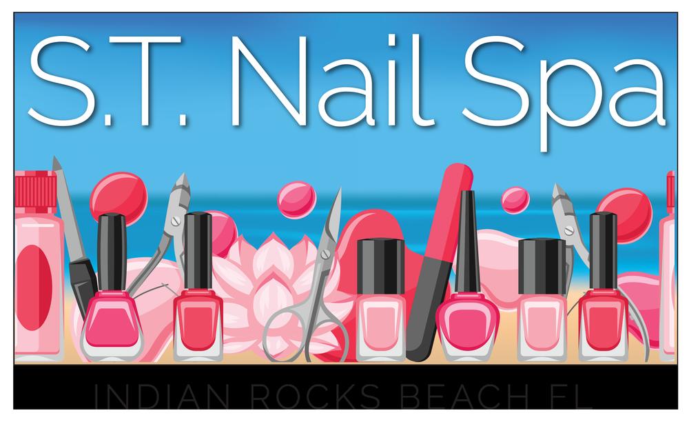 S T Nails & Spa: 2300 Gulf Blvd, Indian Rocks Beach, FL