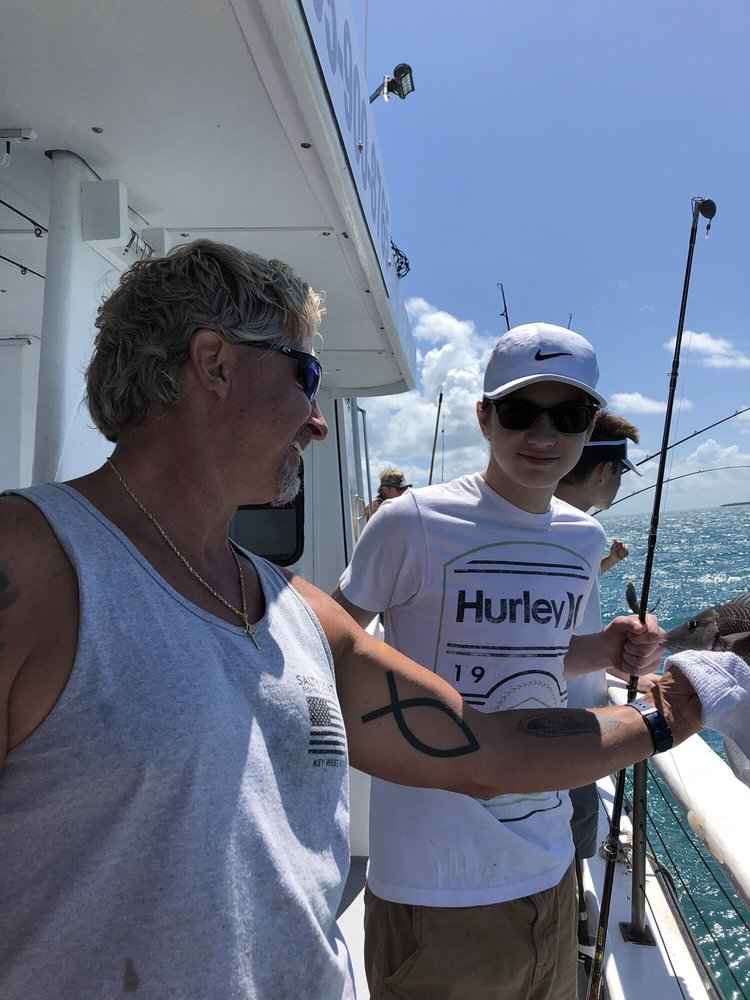 Salty Goat Fishing Charters: 619 Front St, Key West, FL