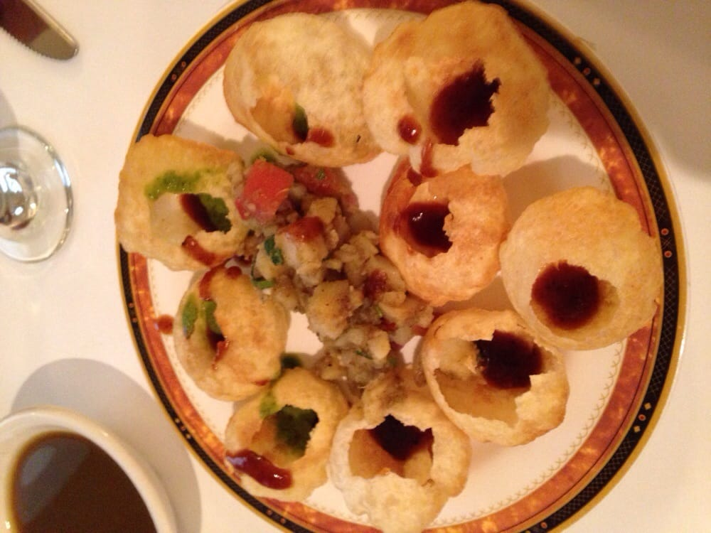 Gol gappe pani puri yelp for Amber indian cuisine