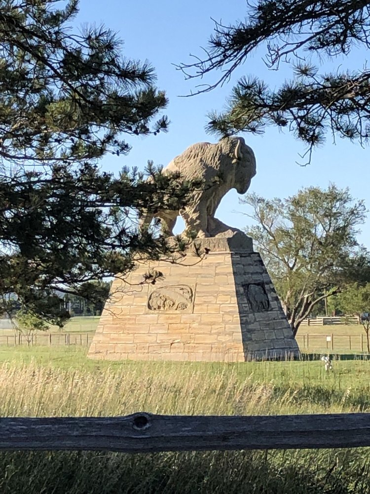 frontier historical park: Old Highway 40, Hays, KS