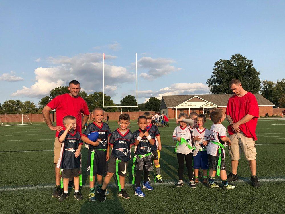 Merrimack Valley Flag Football: 17 Lincoln Ave, Haverhill, MA