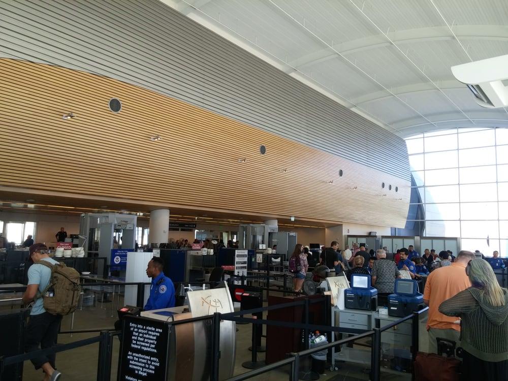 TSA Checkpoint Terminal A - San Jose International Airport