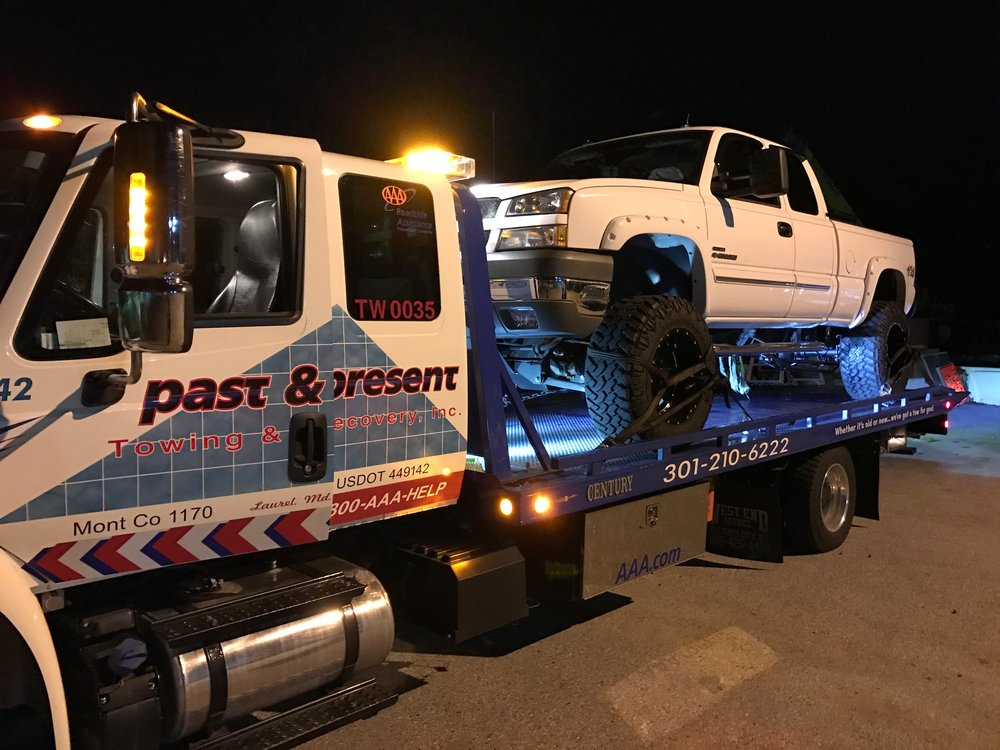 Towing business in Burtonsville, MD