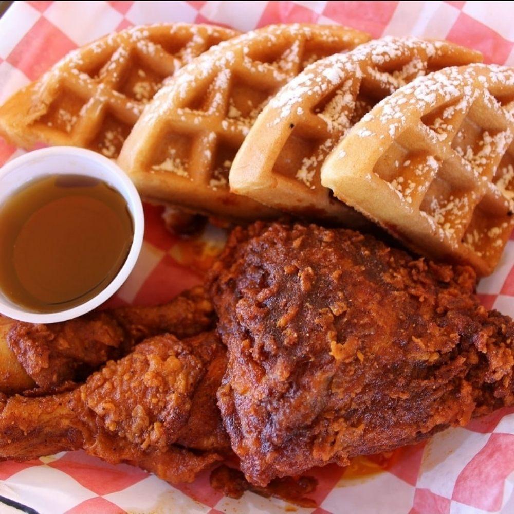 Food from Chile Chicken Nashville Hot Chicken