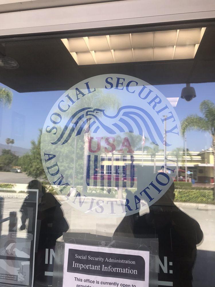 Social Security: 1165 E Rt 66, Glendora, CA