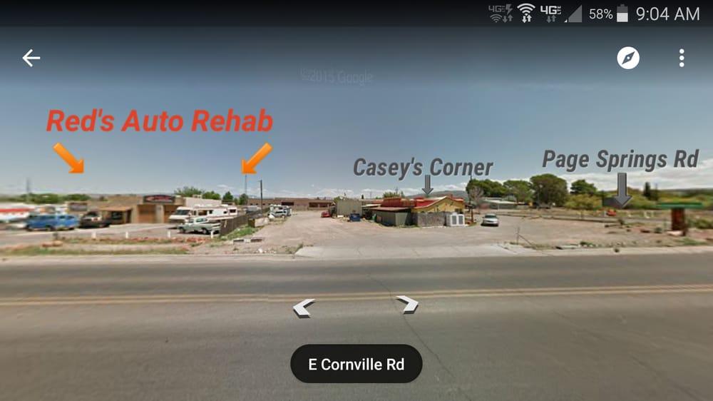 Red's Auto Rehab: 11040 E Cornville Rd, Cornville, AZ