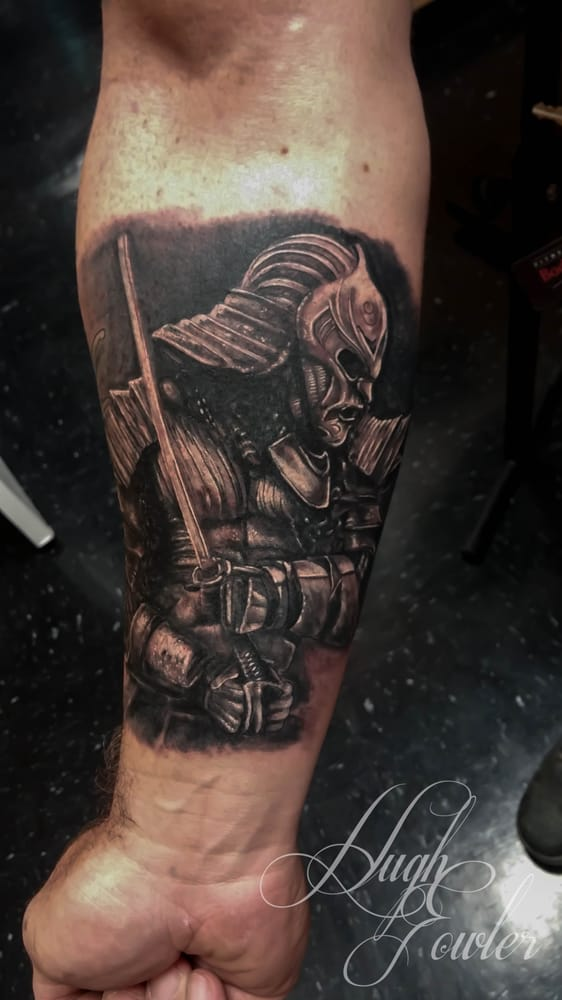 Tattoo done by artist hugh fowler of iv horsemen tattoo in for Best tattoo artists in florida