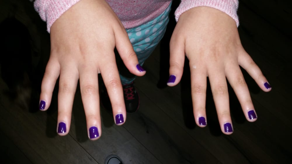 Kids nails painted - Yelp