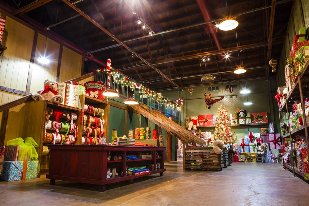 "The North Pole Experience is an incredible opportunity for families to visit Santa in the ""North Pole"" during the Christmas season. When visiting Santa's Workshop, families will be able to participate in a multitude of activities, such as building toys with the elves, ."