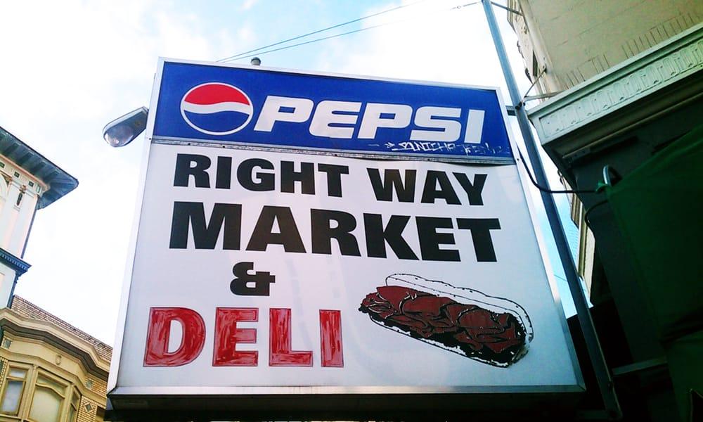 Right Way Market and Deli