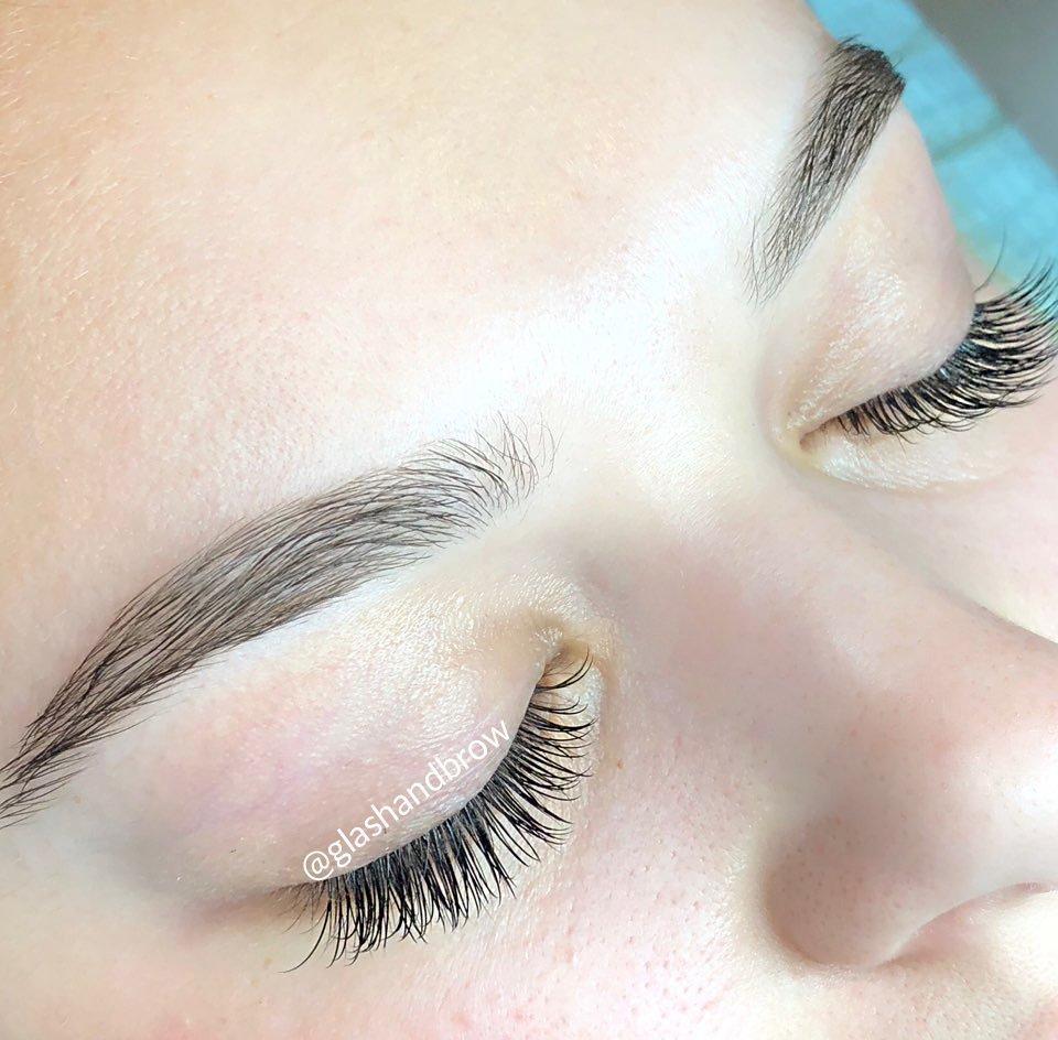 84826809f47 Individual & hybrid eyelash extension - Glow set(70 lashes per eye ...