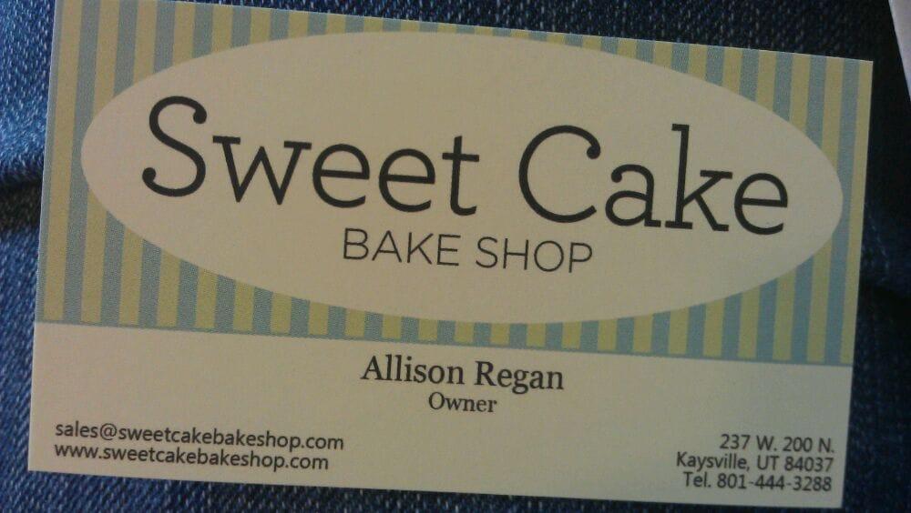 Sweet Cake Bake Shop Kaysville Utah