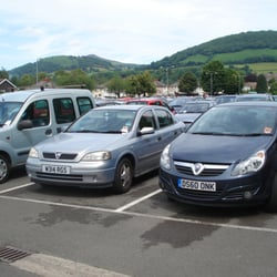 Fairfield Car Park Abergavenny