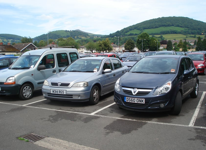 Abergavenny Fairfield Car Park