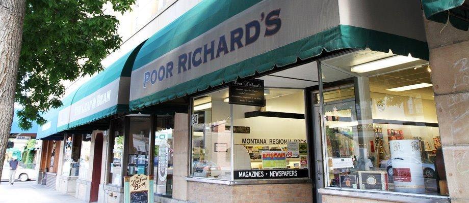 Poor Richard's News: 16 N Grand Ave, Bozeman, MT