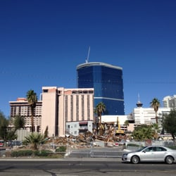 Vegas nv united states just walked by this today and its being torn