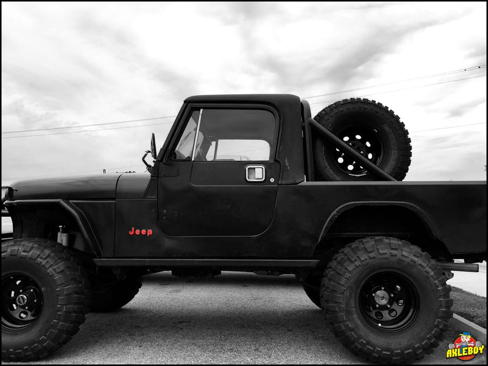 Showing off this cj8 jeep scrambler we designed and built for Cj custom homes