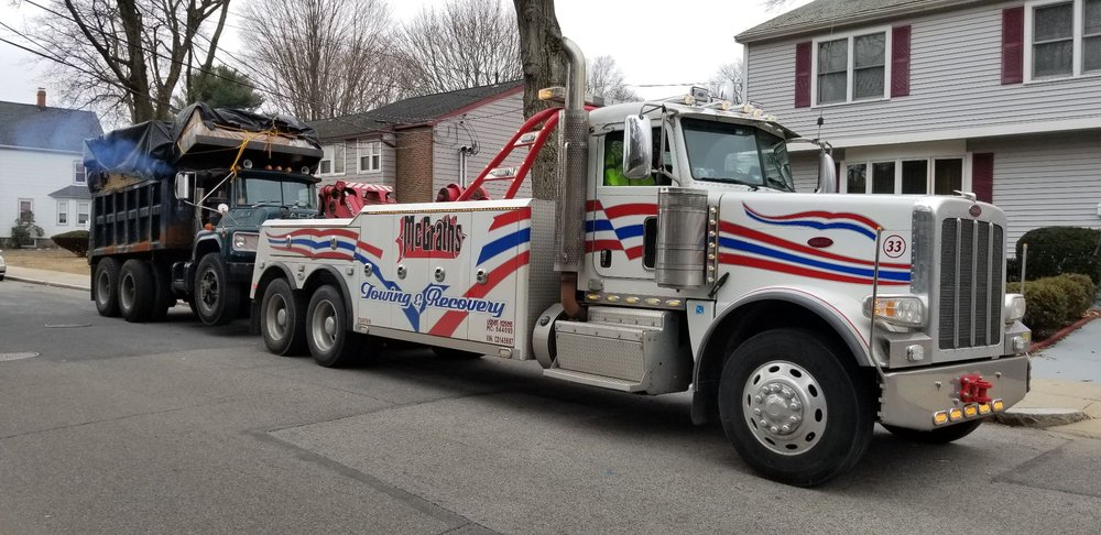 Towing business in Holbrook, MA