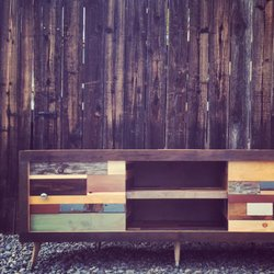Photo Of Left Angle   Montclair, CA, United States. Reclaimed Wood Credenza