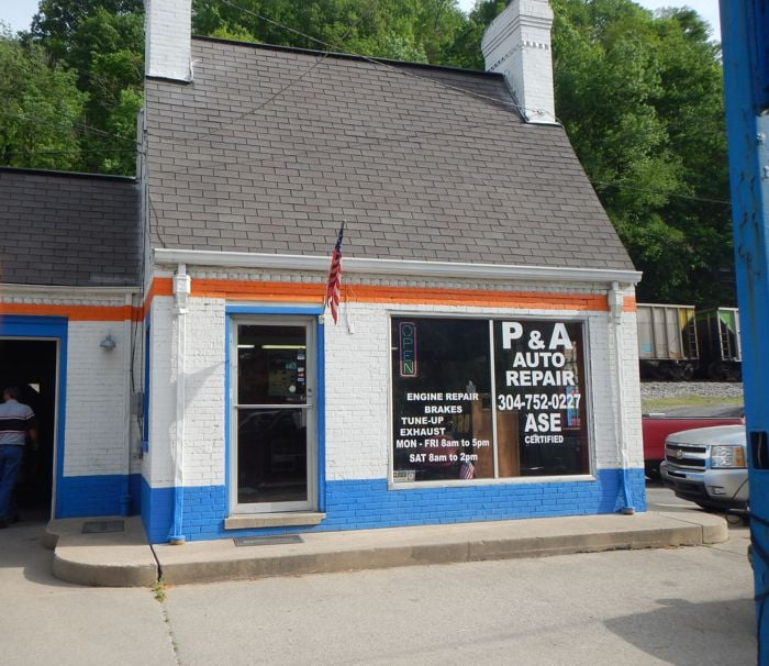 P & A Auto Repair: 775 Stratton St, Logan, WV