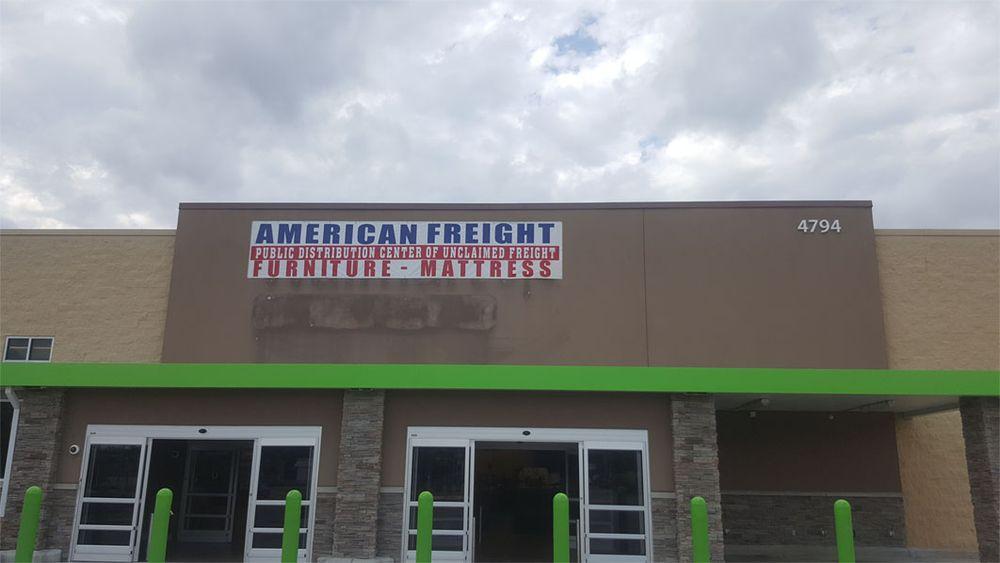 American Freight Furniture and Mattress: 4794 E 13th St, Wichita, KS