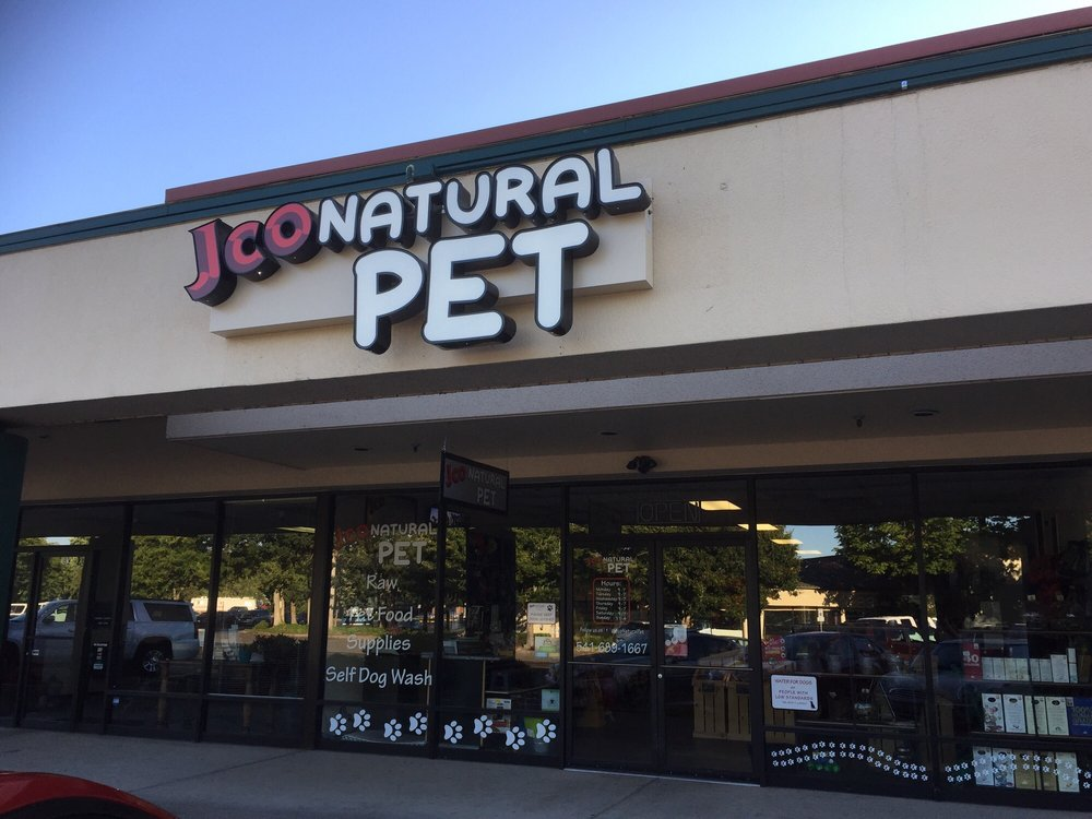 j co natural pet: 1020 Green Acres Rd, Eugene, OR