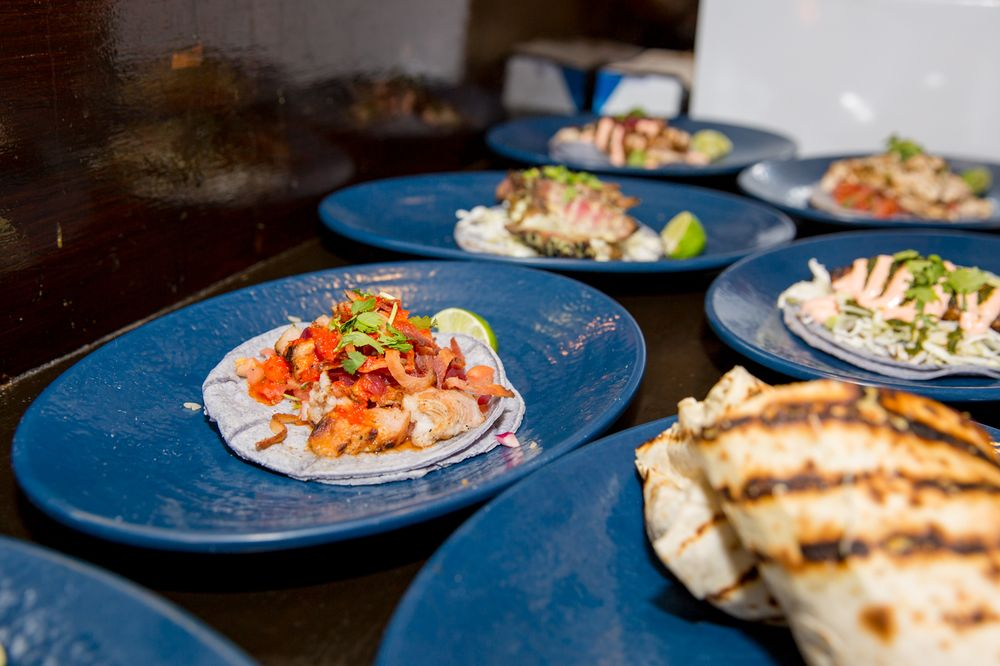 Food from Mexicali Blue