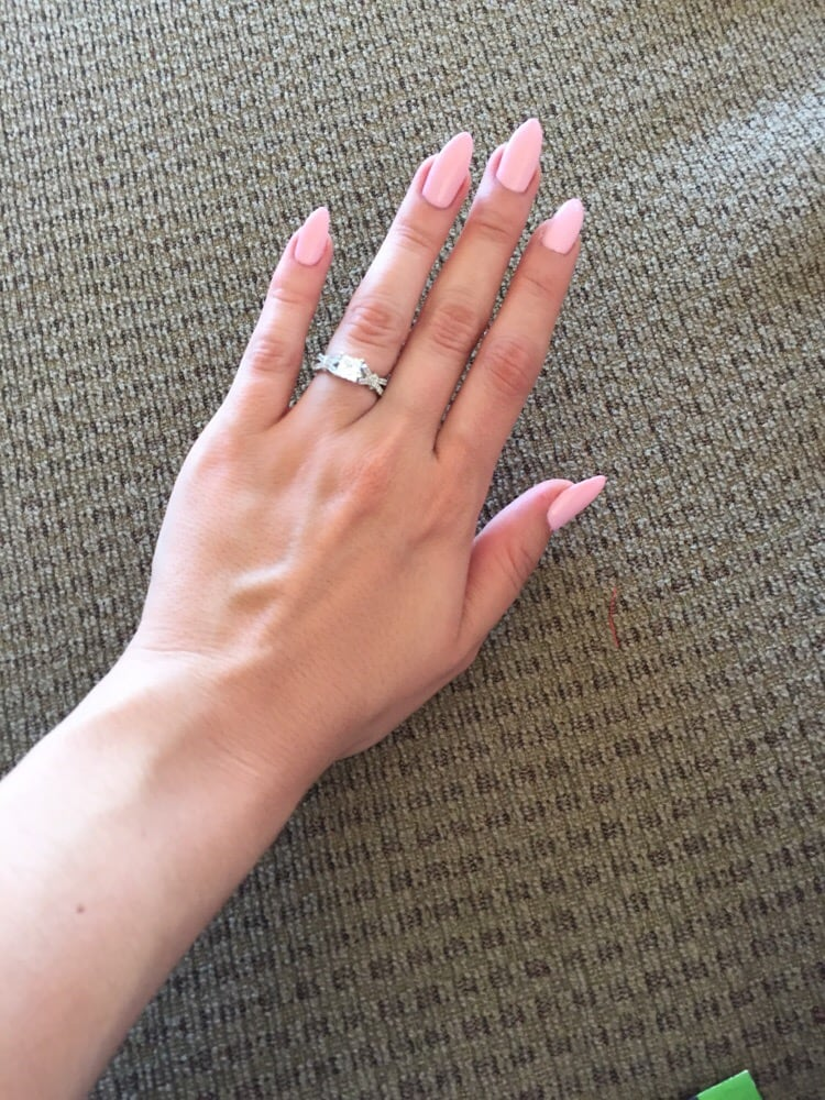 Pink Stiletto Nails - Yelp