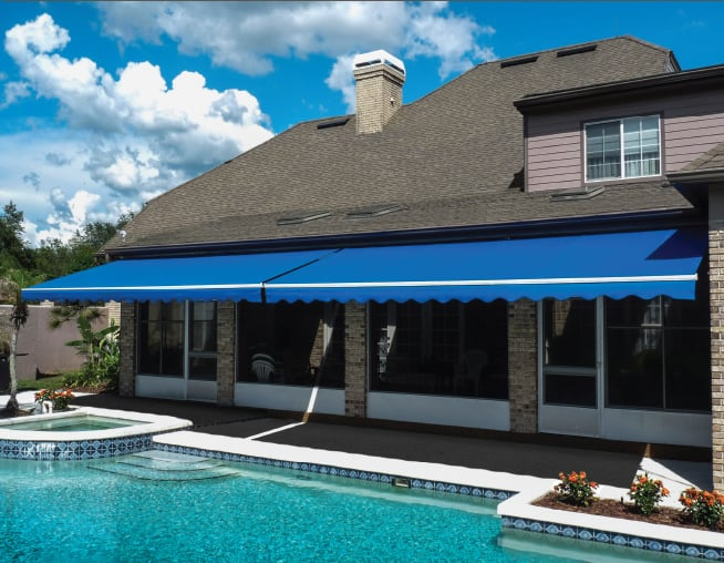 Retractable Awnings Installation.   Yelp