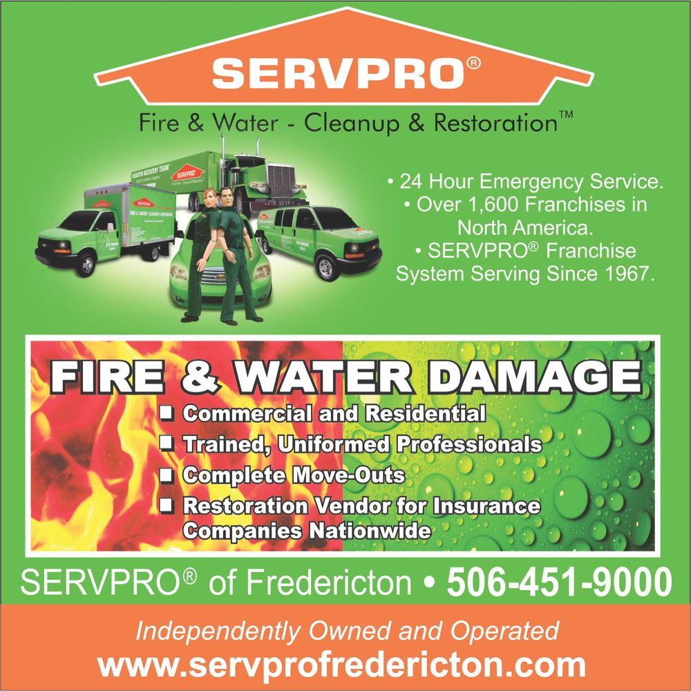 Servpro Of Fredericton Get Quote Carpet Cleaning 123
