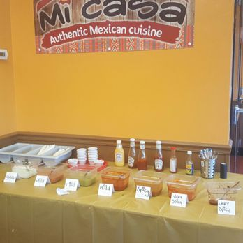 Photo Of Mi Casa Authentic Mexican Cuisine Bourbonnais Il United States Salsa