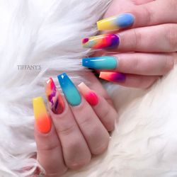 7ff891ee1ca Photo of Tiffany's Beauty Lounge - San Leandro, CA, United States. Nails by