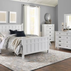 Photo Of Levin Furniture   North Olmsted, OH, United States. Felicity White  Bedroom