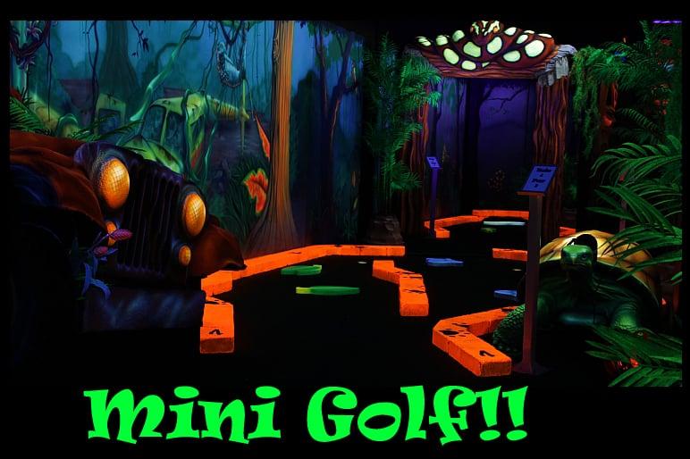 Black Light Mini Golf! - Yelp