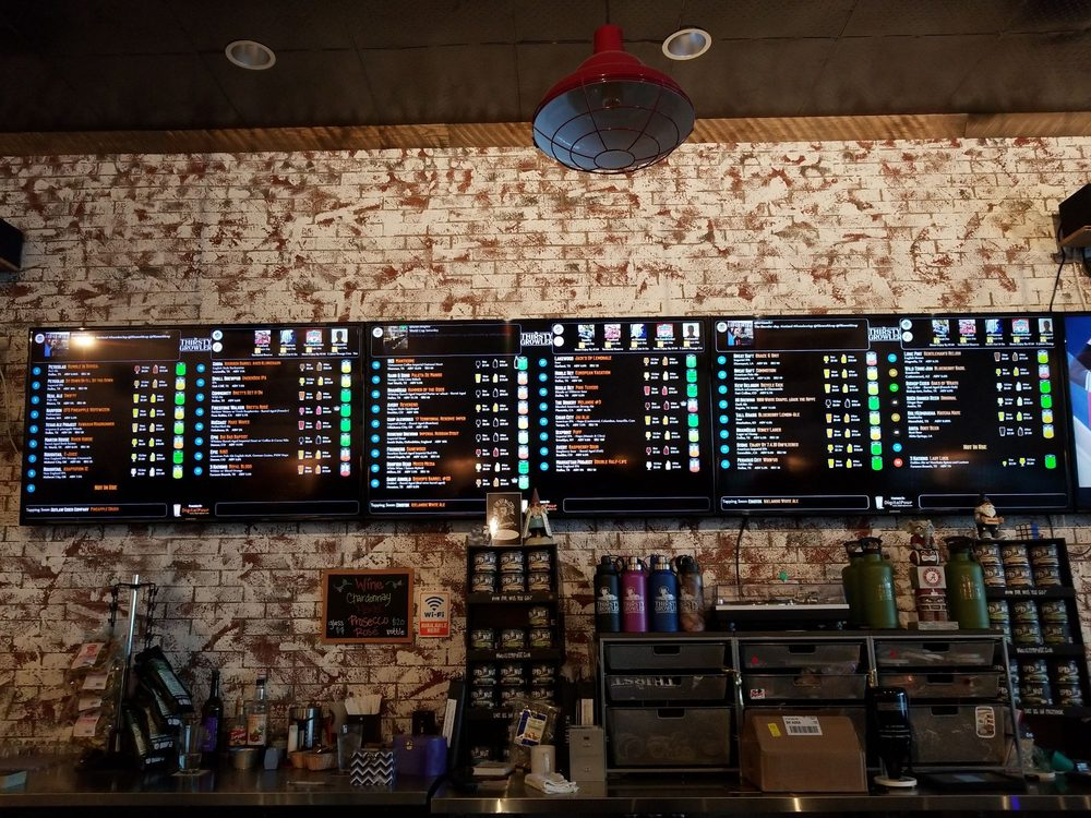 The Thirsty Growler: 5733 State Hwy 121, The Colony, TX