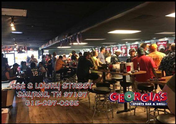 Georgia's Sports Bar & Grill 555 S Lowry St Smyrna, TN Restaurants