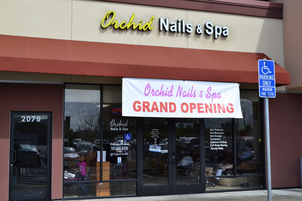Orchid Nails and Spa: 2081 Solano Ave, Vallejo, CA