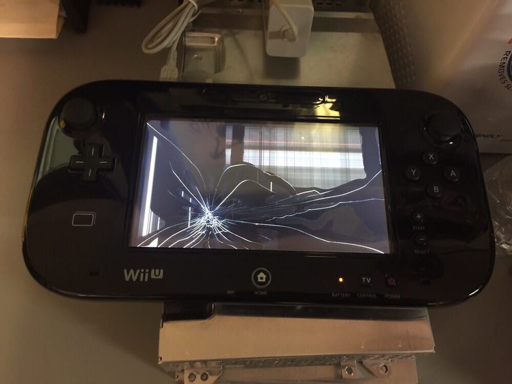 Wii U Gamepad Cracked Lcd We Can Repair It Yelp