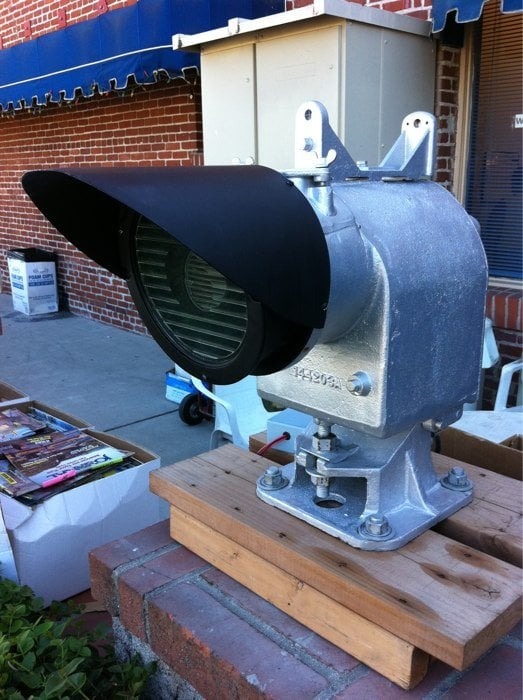 Restored US&S searchlight signal  - Yelp