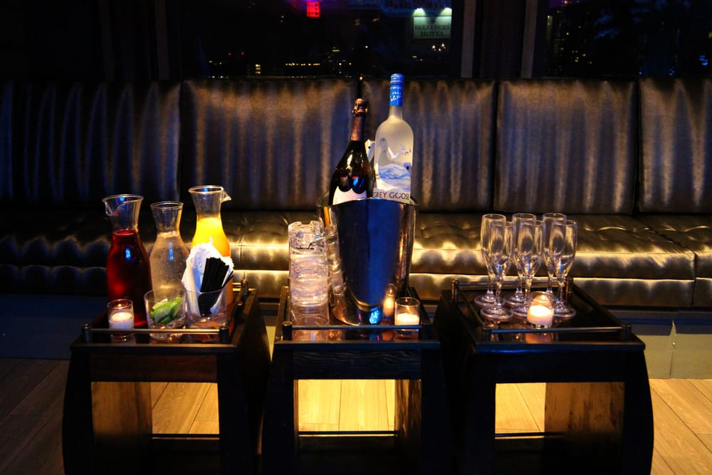 Photo of The Attic Rooftop & Lounge - New York, NY, United States. Bottle Service Ready To Go