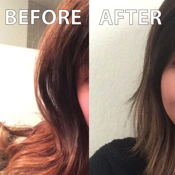 Amazing color correction i had asked for light ash brown for 77 salon portland
