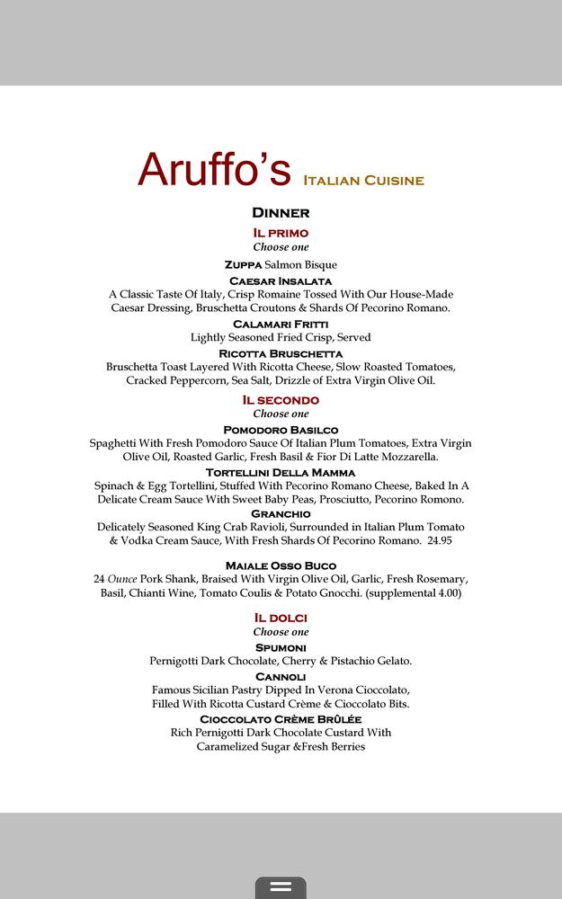 Aruffo s italian cuisine 224 photos restaurant italien for Aruffo s italian cuisine